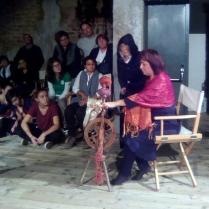 Aracne interpreta Paola Matese